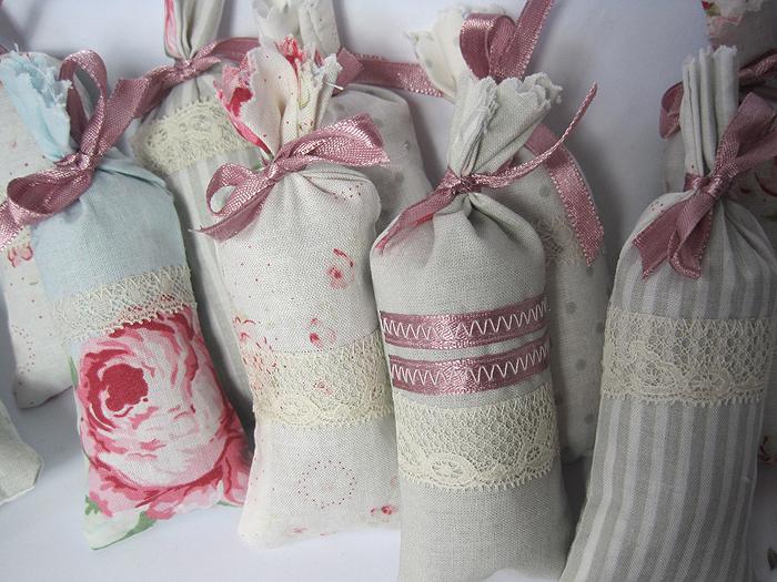 Lavendel-Duftsäckchen